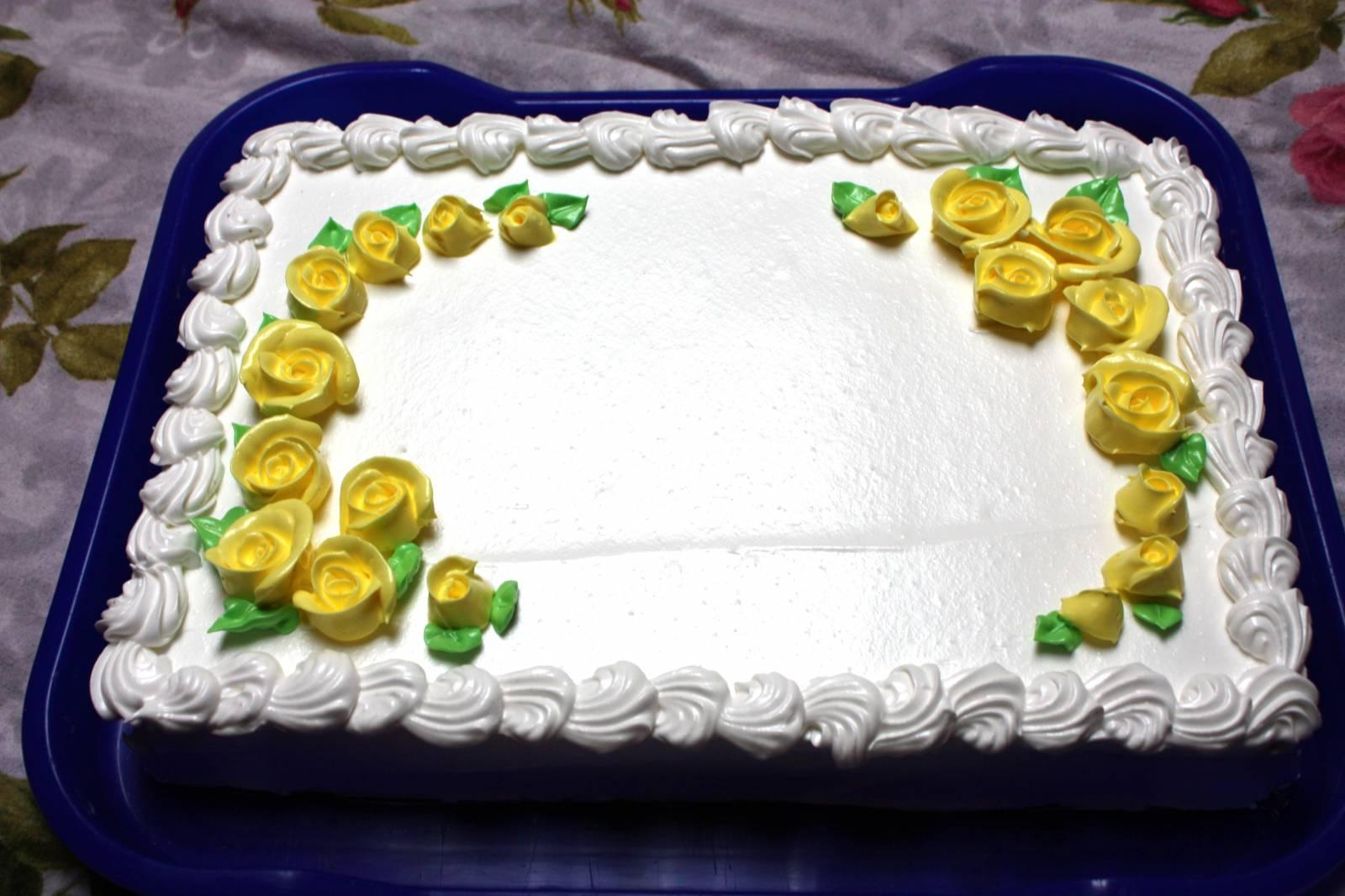 Украшаем торты белковым кремом с пошаговым фото