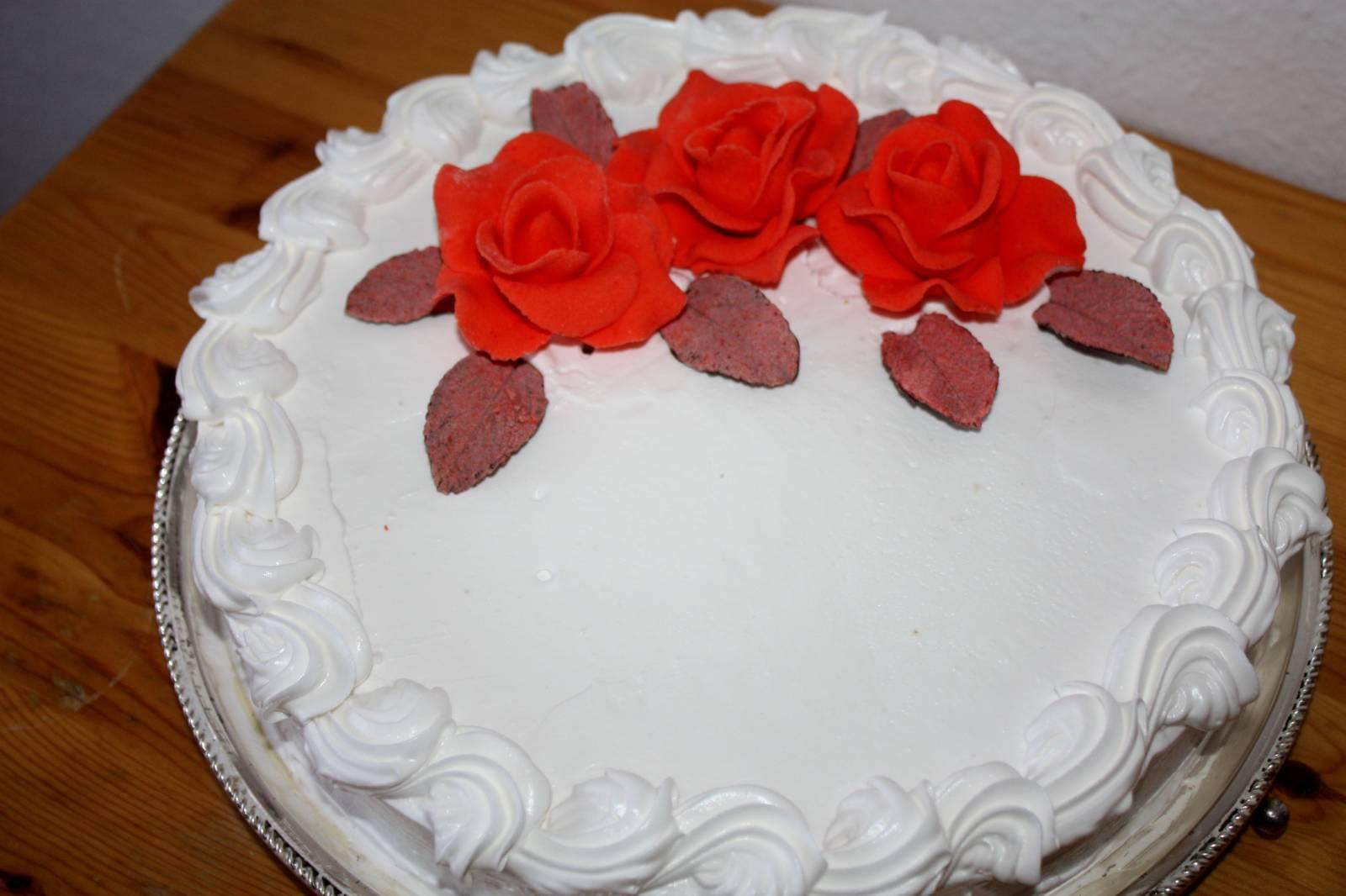 Торт из крема пошаговый рецепт без мастики